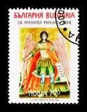 Symboler av det nationella historiska och arkeologiska kyrkliga museet, konstserie, circa 1994 Royaltyfria Bilder