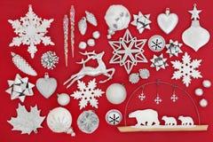 Symboler av jul Arkivbild