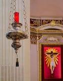 Symboler av kristendomen Arkivbilder