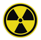 Symboler av utstrålning Arkivfoton