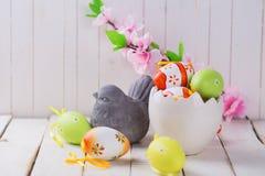 Symboler av våren och påsken Royaltyfri Foto