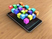 symboler 3d Arkivbild