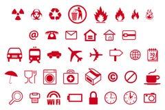 Symboler - en symbol för livstid Arkivbilder