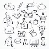 symboler för ai-affär cs2 eps inkluderar Royaltyfria Foton