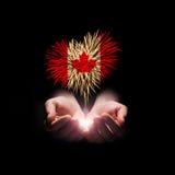 symboler för den knappKanada dagen ställde in Välkomnande till Kanada Royaltyfri Fotografi