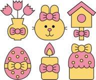 Symboler för ferie royaltyfri illustrationer