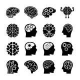 Symboler för mänskliga meningar stock illustrationer
