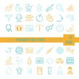 symboler för pappfärgsymbol ställde in vektorn för etiketter tre Arkivfoton
