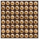 symboler också vektor för coreldrawillustration Royaltyfri Foto