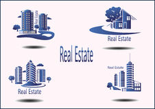 symboler Real Estate Arkivfoton