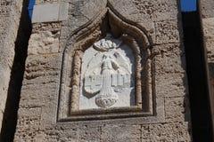 Symboler riddarna av Malta Arkivfoton