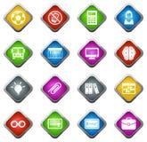 symboler school seten Arkivfoton