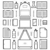 Symboler: Skolatillförsel Arkivbilder