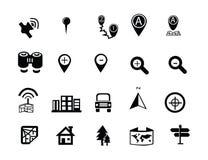 symboler ställde in rengöringsduk stock illustrationer