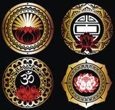 Symboles ésotériques illustration de vecteur