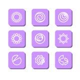 Symboles abstraits Photo libre de droits