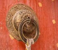 Symboles bouddhistes dans les objets quotidiens Image libre de droits