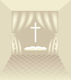 Symboles chrétiens Photos stock