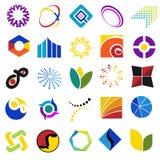 Symboles colorés Photo libre de droits