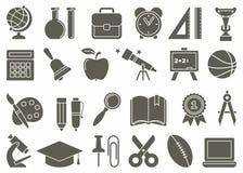 Symboles d'éducation Photos stock