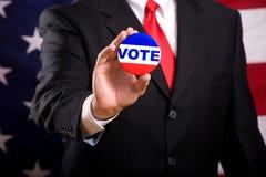 Symboles d'élection Image libre de droits