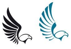 Symboles d'aigle Images libres de droits