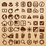 Symboles d'appareil-photo illustration de vecteur