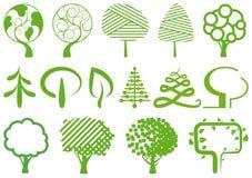 Symboles d'environnement Photographie stock