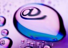Symboles d'Internet Photographie stock