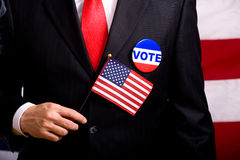 Symboles d'élection Images libres de droits