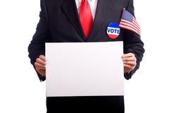 Symboles d'élection Photo stock