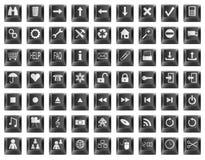 Symboles de bouton de clavier Image libre de droits