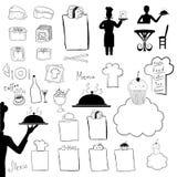 Symboles de café Photo libre de droits
