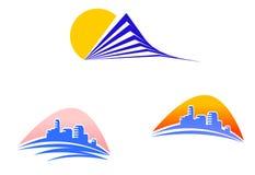 Symboles de constructions Photo libre de droits