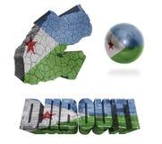 Symboles de Djibouti Image libre de droits