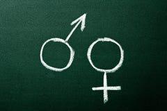 Symboles de genre image libre de droits