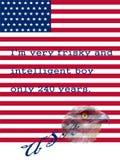 Symboles de Jour de la Déclaration d'Indépendance Photographie stock