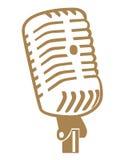 Symboles de microphone Images libres de droits