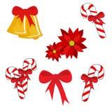 Symboles de Noël Image libre de droits