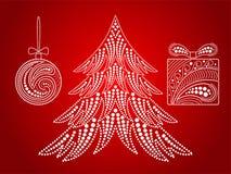 Symboles de Noël Photos stock