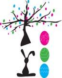 Symboles de Pâques illustration de vecteur