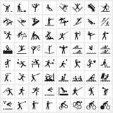 Symboles de sport Photo libre de droits