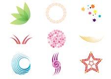 Symboles de vecteur Photos libres de droits