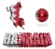 Symboles du Bahrain Images stock