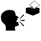 Symboles en difficulté Photos libres de droits