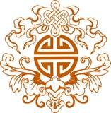 Symboles graphiques chinois Photographie stock