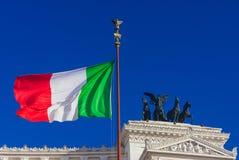 Symboles italiens de nationalisme photographie stock