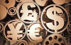 symboles monétaire Photos stock