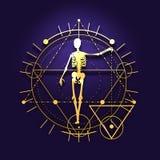 Symboles mystiques ésotériques Photo libre de droits