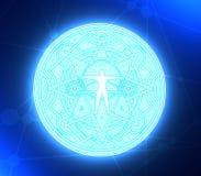 Symboles mystiques ésotériques photo stock